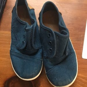Other - Toms Boys Navy shoes